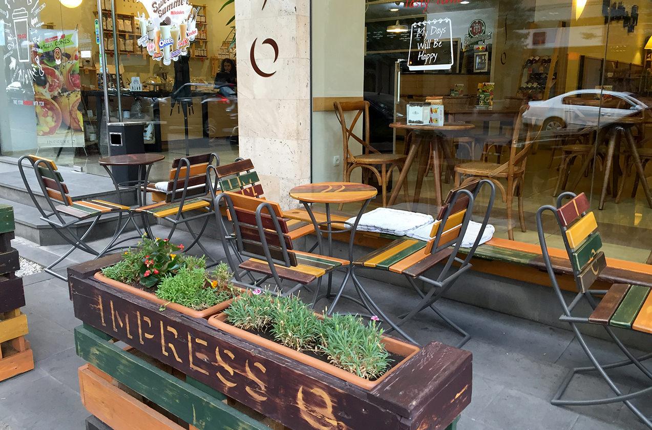 IMPRESSO Coffee Shop в Ереване, Армения