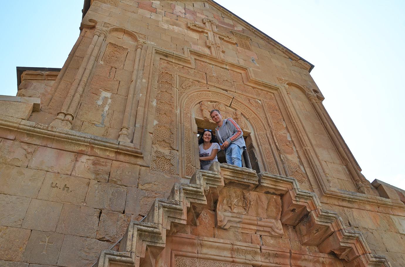 Церковь Сурб Аствацацин в монастыре Нораванк