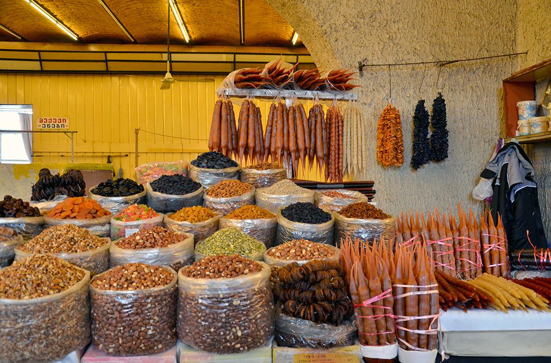 Дезертирка или продуктовый рынок Тбилиси