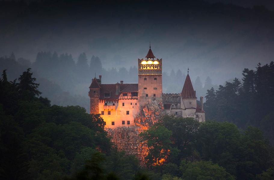 Замок Дракулы, Трансильвания