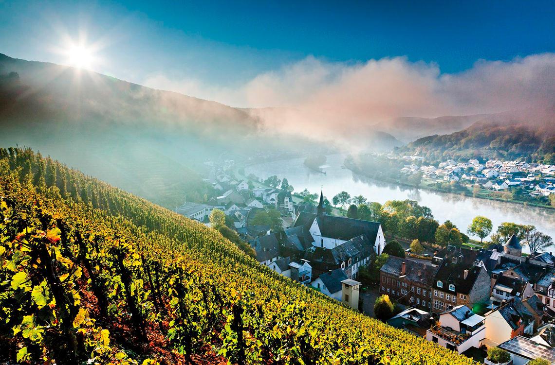 Долина реки Мозель, Западная Европа. 17 самых романтических мест на планете