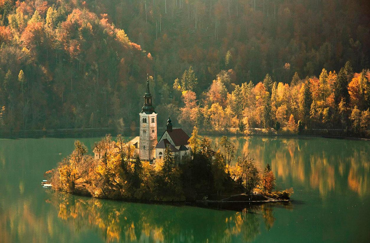 Западная Словения, Центральная Европа. 17 самых романтических мест на планете