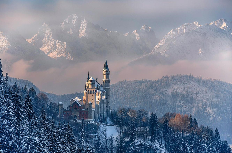 Замок Нойшванштайн, Германия. 17 самых романтических мест на планете