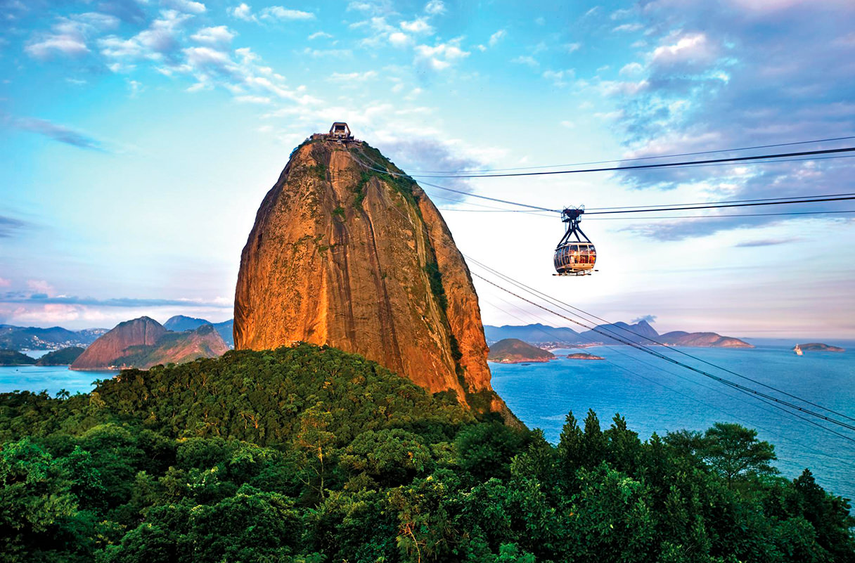Рио-де-Жанейро, Бразилия. 17 самых романтических мест на планете