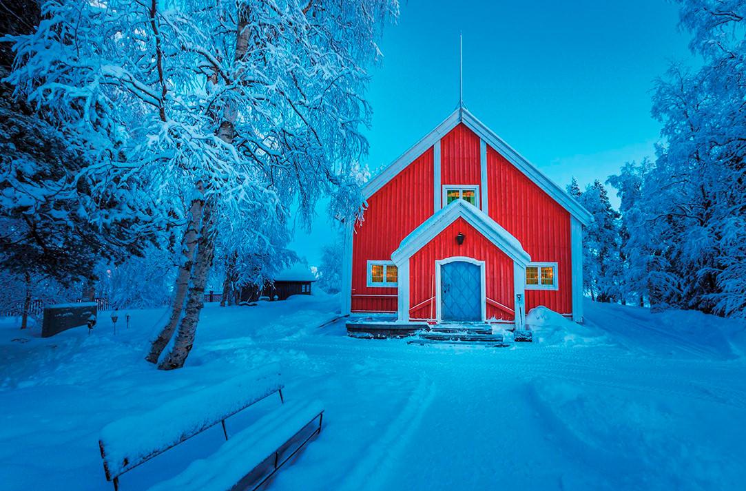 Юккасъярви, Швеция. 17 самых романтических мест на планете