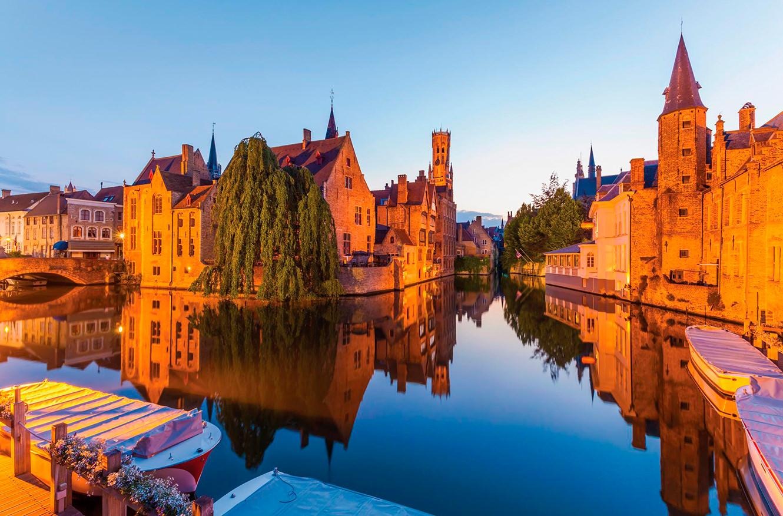 Брюгге, Бельгия. 17 самых романтических мест на планете