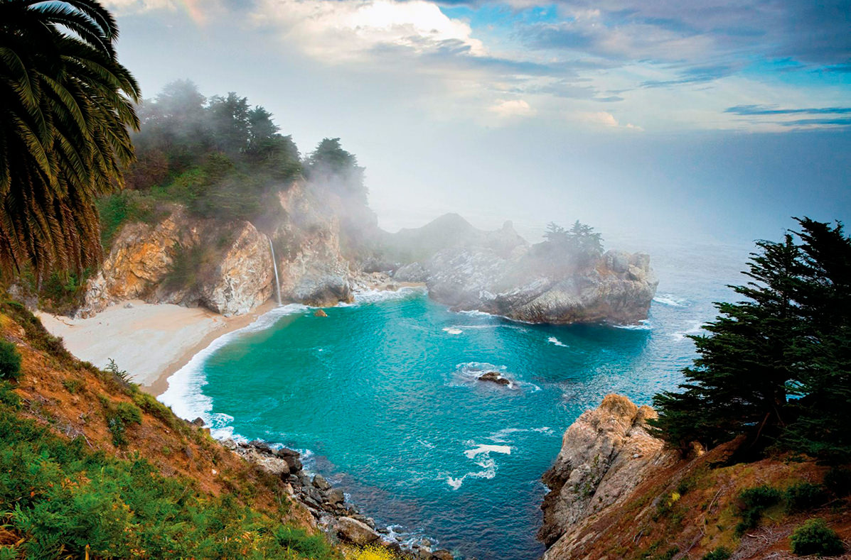 Биг-Сур, Калифорния, США. 17 самых романтических мест на планете