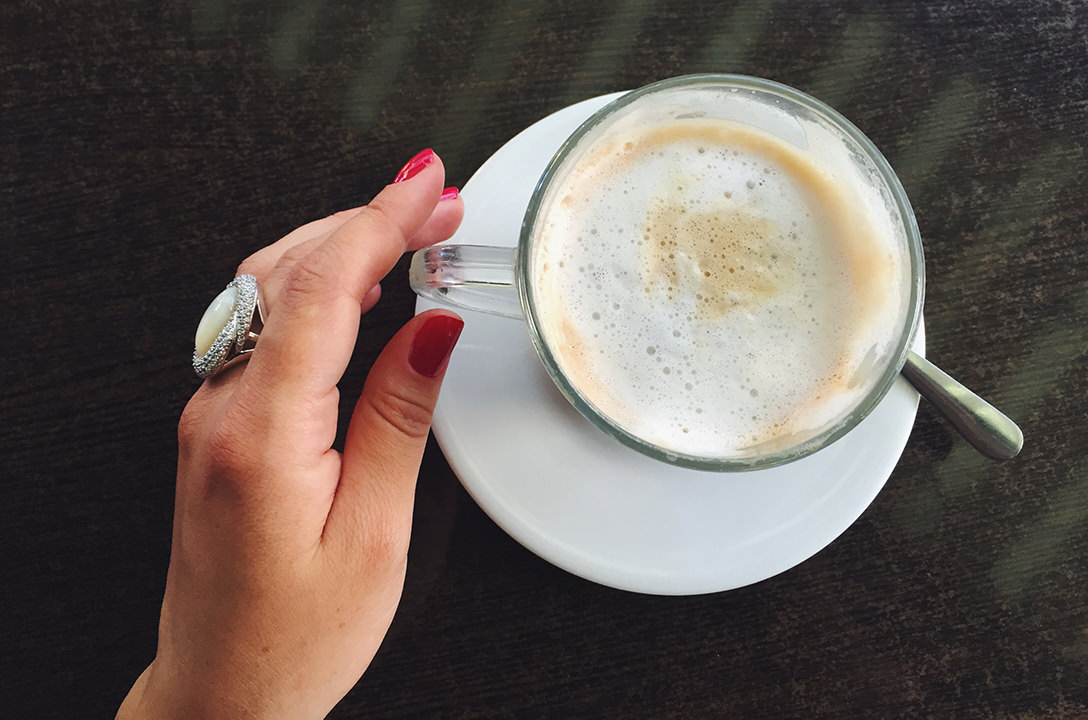 Кольцо с охридским жемчугом