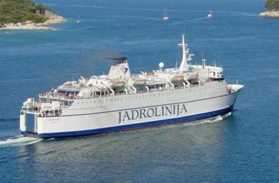 Из Черногории в Италию снова запустят паром