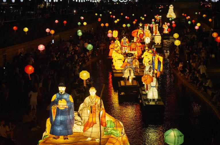 Сеул отпразднует Фестиваль лотосовых фонарей