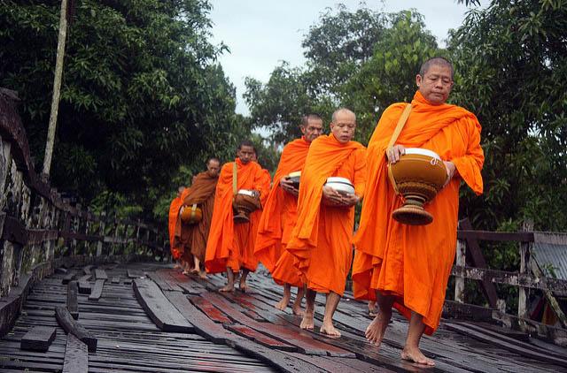 В Таиланде пройдет церемония посвящения в монахи