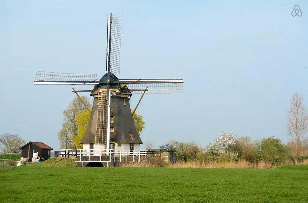 Ветряные мельницы как жилье