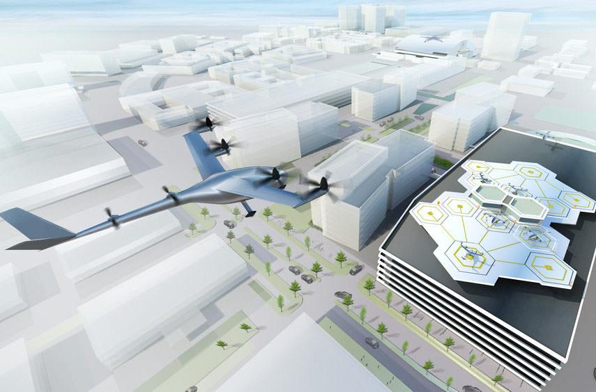 К 2020 году такси Uber будут летать