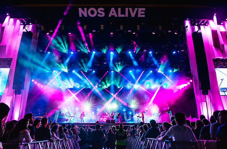 NOS Alive - Летний календарь лучших музыкальных фестивалей Европы