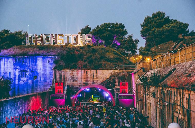 Dimensions - Летний календарь лучших музыкальных фестивалей Европы