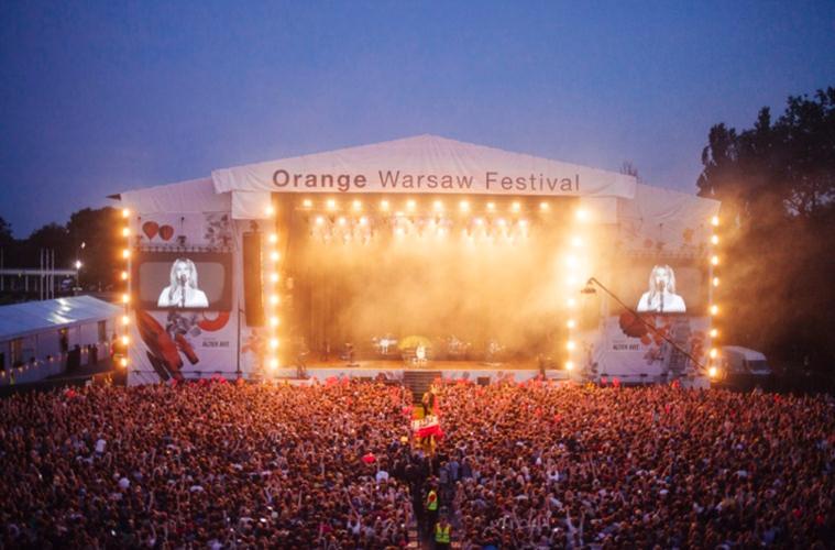 Orange Warsaw - Летний календарь лучших музыкальных фестивалей Европы