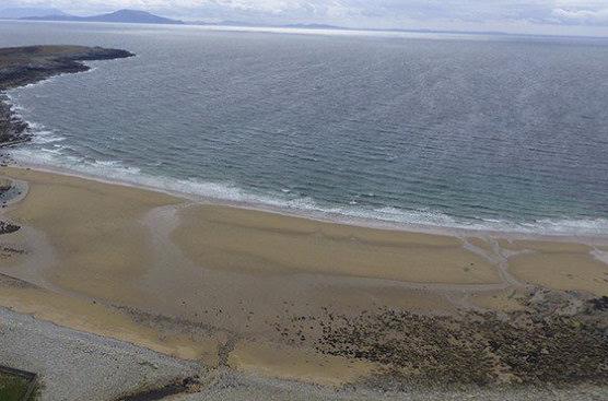 На западе Ирландии появился пропавший 33 года назад пляж