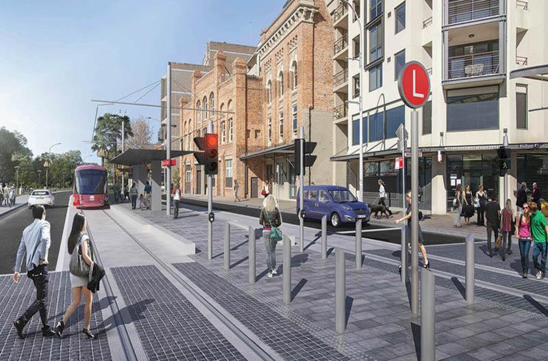 В Австралии запускают трамваи без проводов