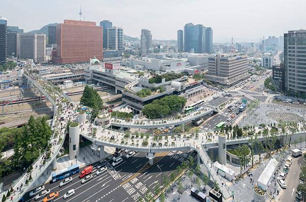 Заброшенное шоссе в Сеуле превратилось в парк