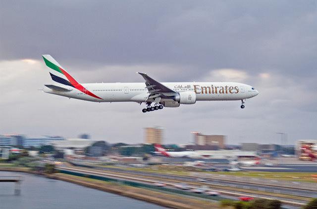Китай вводит санкции против Emirates