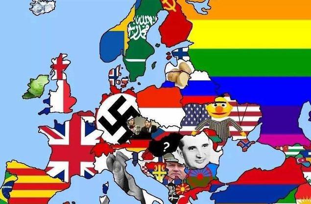 На reddit появилась провокационная карта Европы