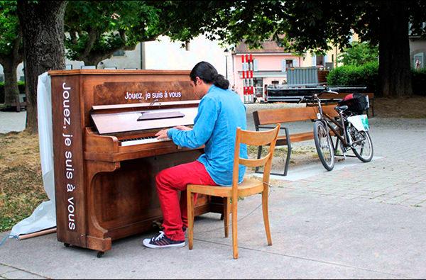 На улицах Парижа установят пианино