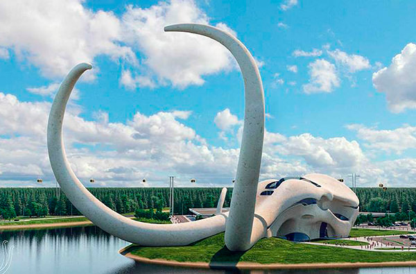 У берега Байкала построят гостиницу в виде мамонта