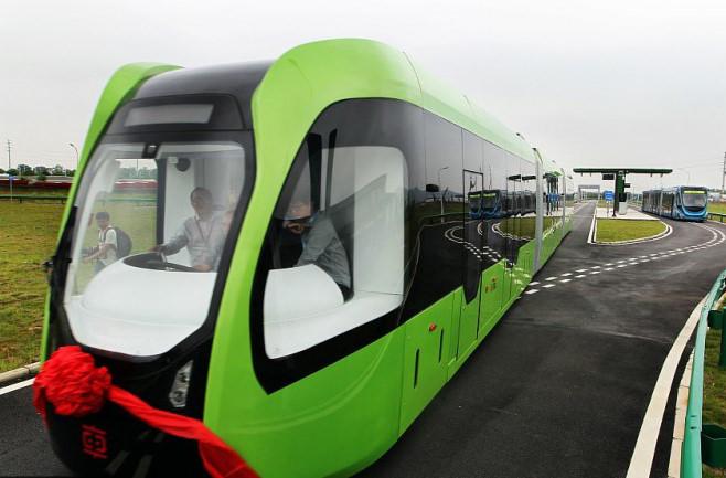 В 2018 по Китаю будут ездить безрельсовые поезда