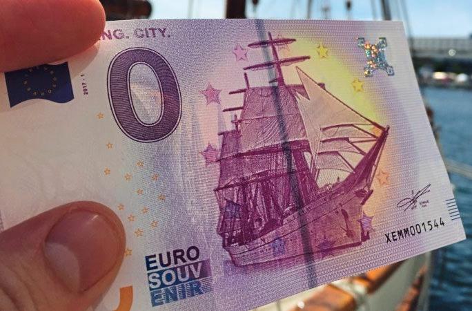 В Германии выпустили купюру номиналом 0 евро
