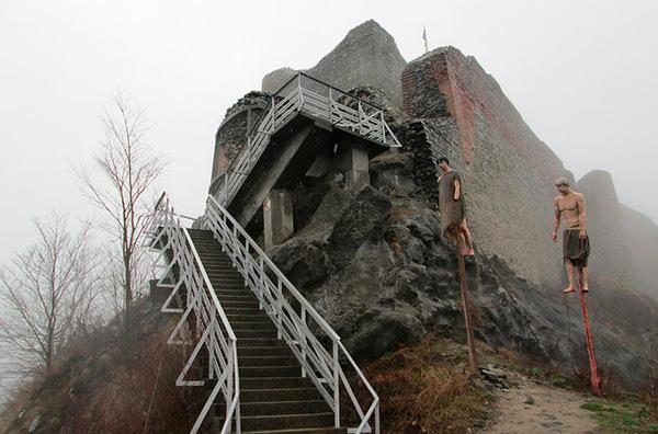Замок Дракулы временно закрыт для туристов
