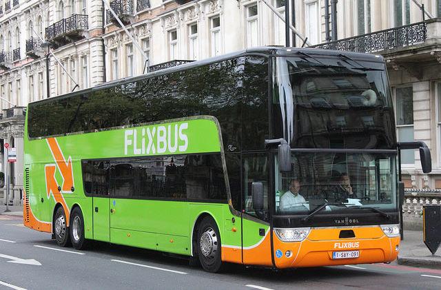 Автобусный лоукостер Flixbus запустил маршруты из Украины в Европу