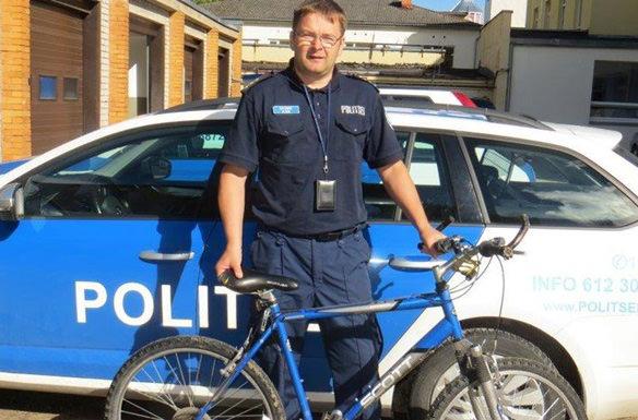Эстонская полиция нашла велосипед, украденный 14 лет назад
