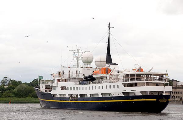 На побережье Балтийского моря открылся новый круизный порт