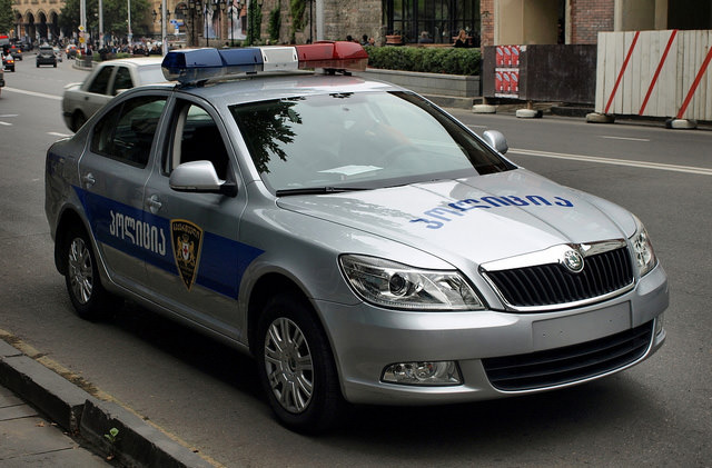 Полиция Грузии будет вести скрытое патрулирование дорог