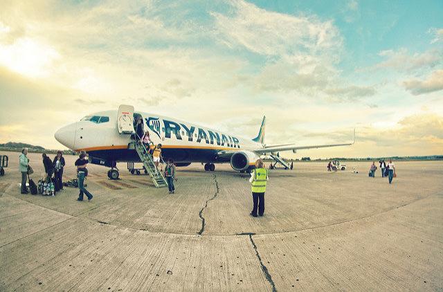 Ryanair не будет летать в Украину