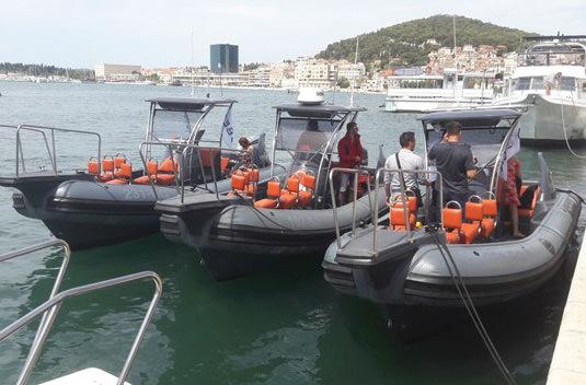 Uber предлагает лодки-такси в Хорватии