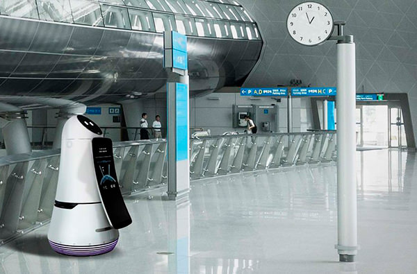 В аэропорту Южной Кореи будет работать робот
