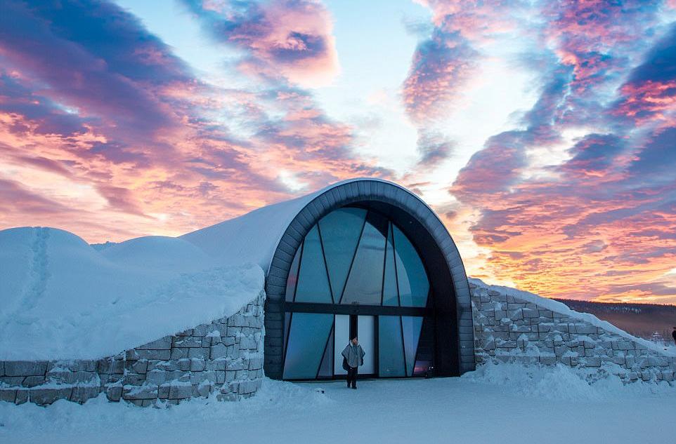 Этим летом в Швеции пожить в ледяном отеле