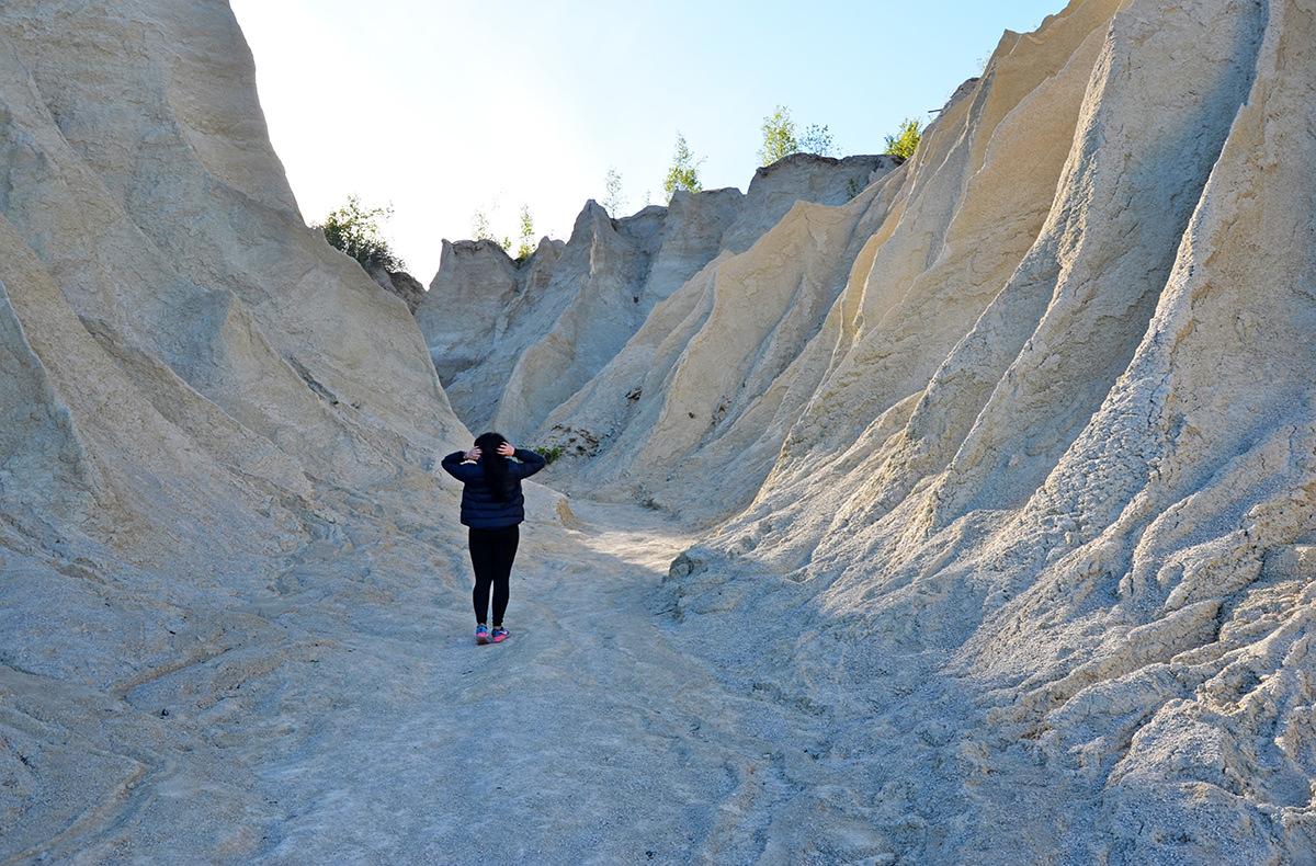 Песчаные насыпи карьера Румму, Эстония