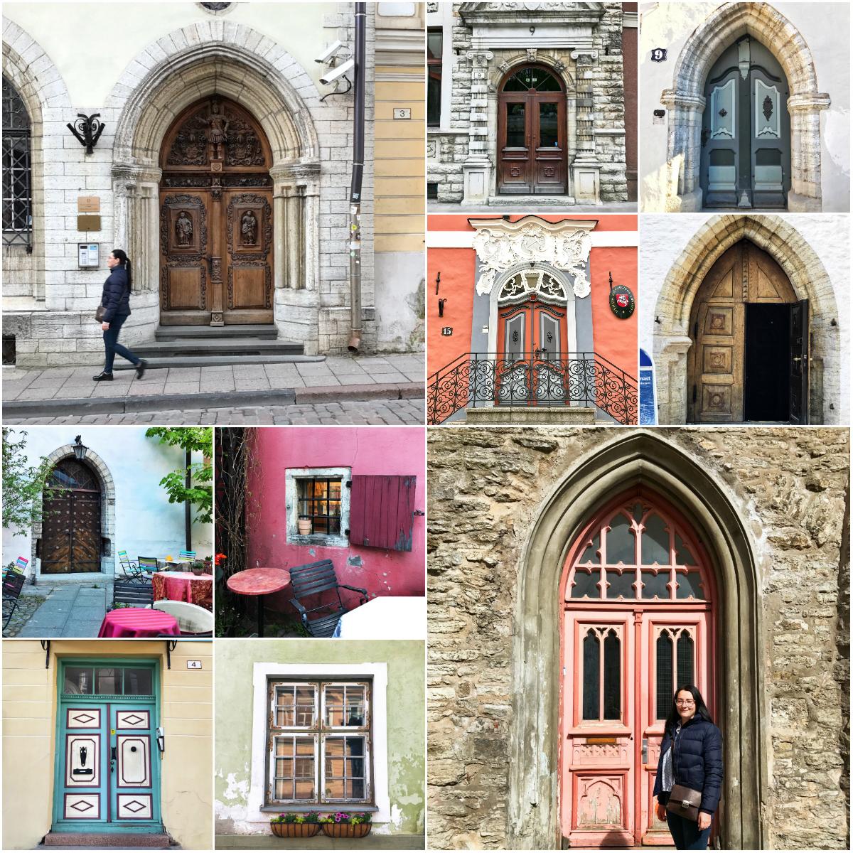 Милые двери и окна Таллина