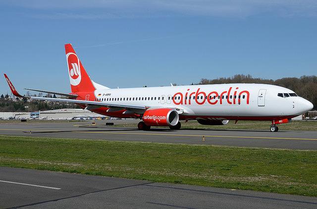 Лоукостер Air Berlin сообщил о банкротстве