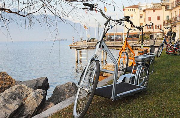 В Нидерландах изобрели новый велосипед с беговой дорожкой