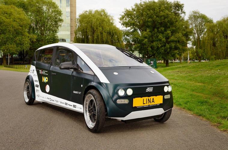 В Нидерландах создали электромобиль из свеклы и льна