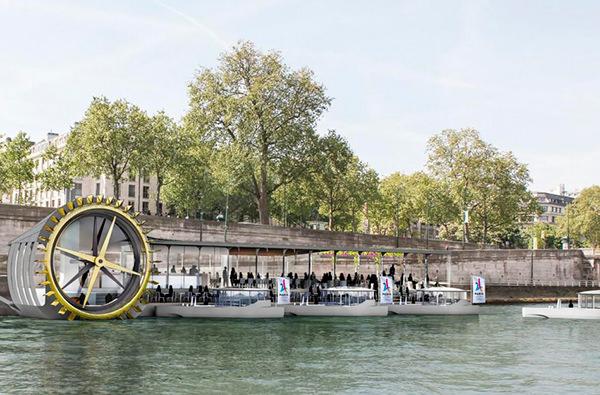 В Париже откроют первую пекарню на воде