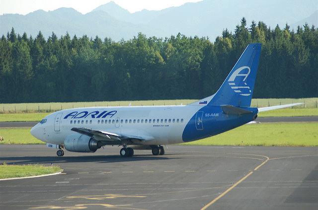 Adria Airways откроет рейсы из Любляны в Киев