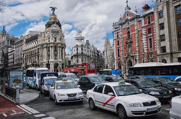 Центр Мадрида перекроют для улучшения качества воздуха