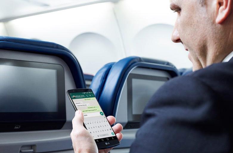 Delta Airlines предлагает пассажирам бесплатный обмен сообщениями во время полета