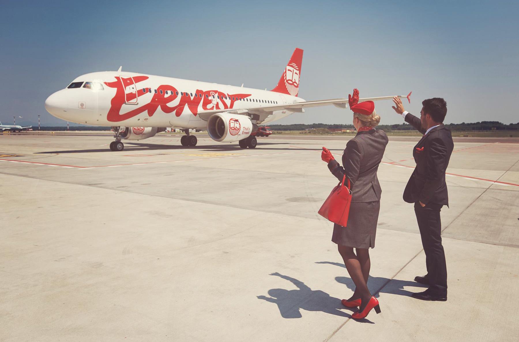 Ernest Airlines будет летать из Украины в Италию