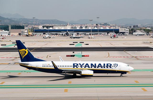 Ryanair будет отменять до 50 рейсов ежедневно до конца октября