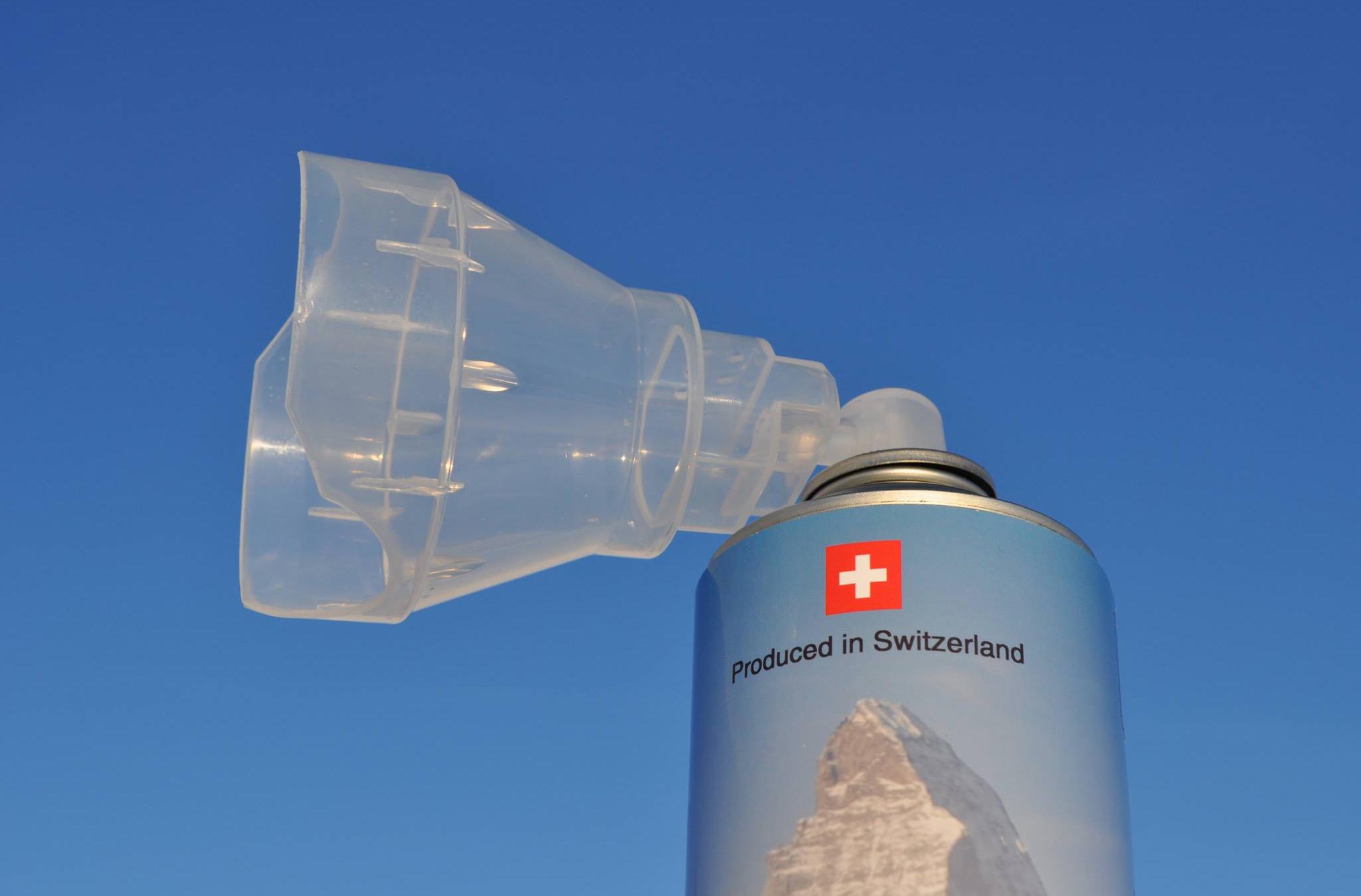 Швейцарский стартап начал продавать альпийский воздух